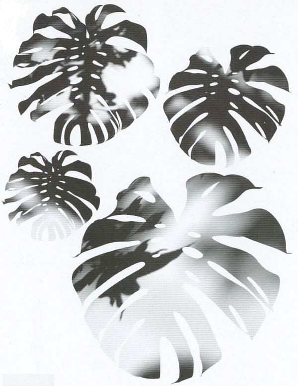 d c fix spirit flow floral fensterblatt fenestra. Black Bedroom Furniture Sets. Home Design Ideas