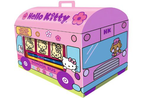 noris 60 631 9803 hello kitty stempel set haus kinder spielzeug basteln kreativit t. Black Bedroom Furniture Sets. Home Design Ideas